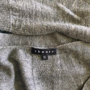 Theory Sweaters - Dark Gray Cardigan